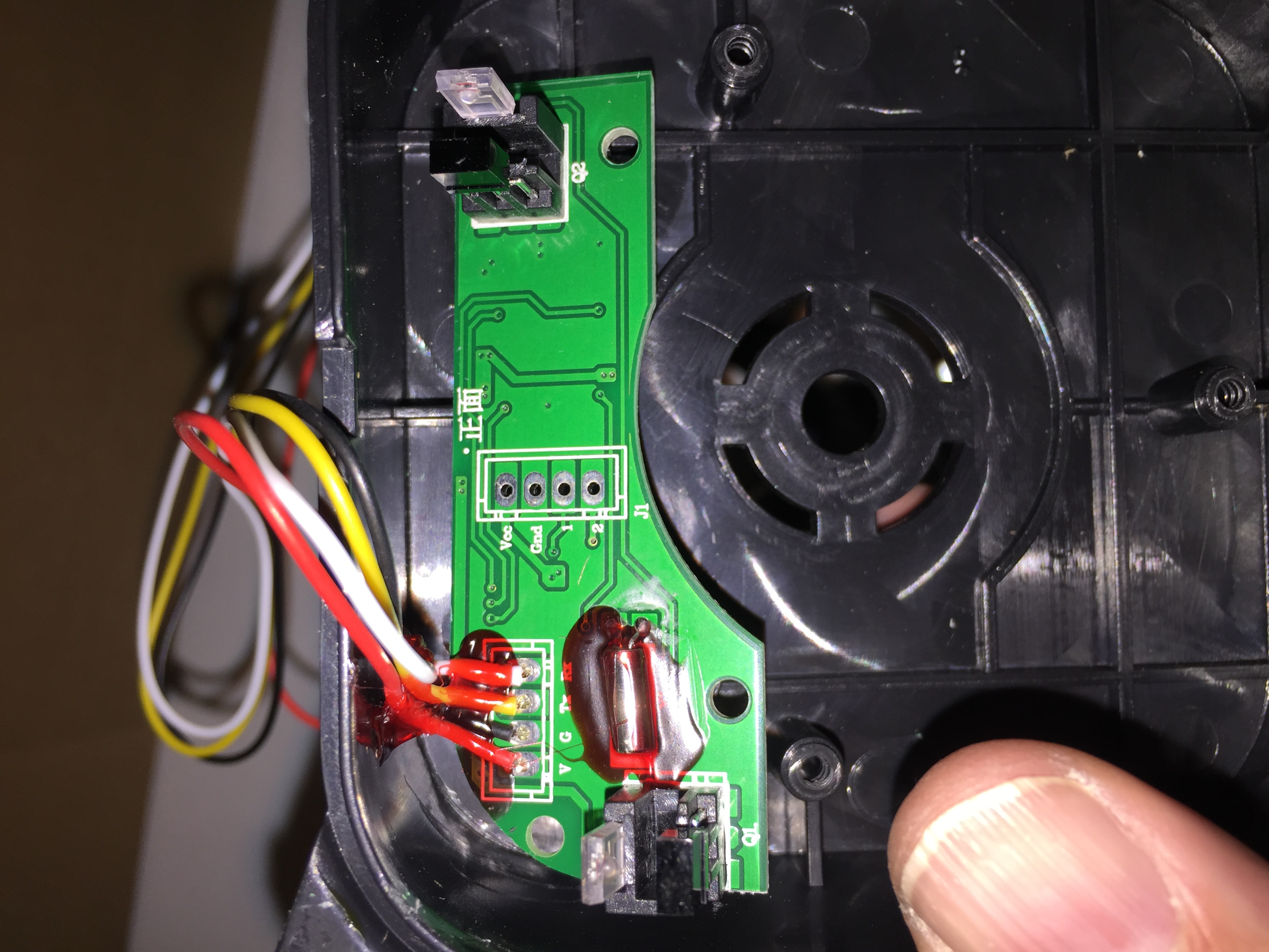 1Up trackball wiring question : Arcade1Up